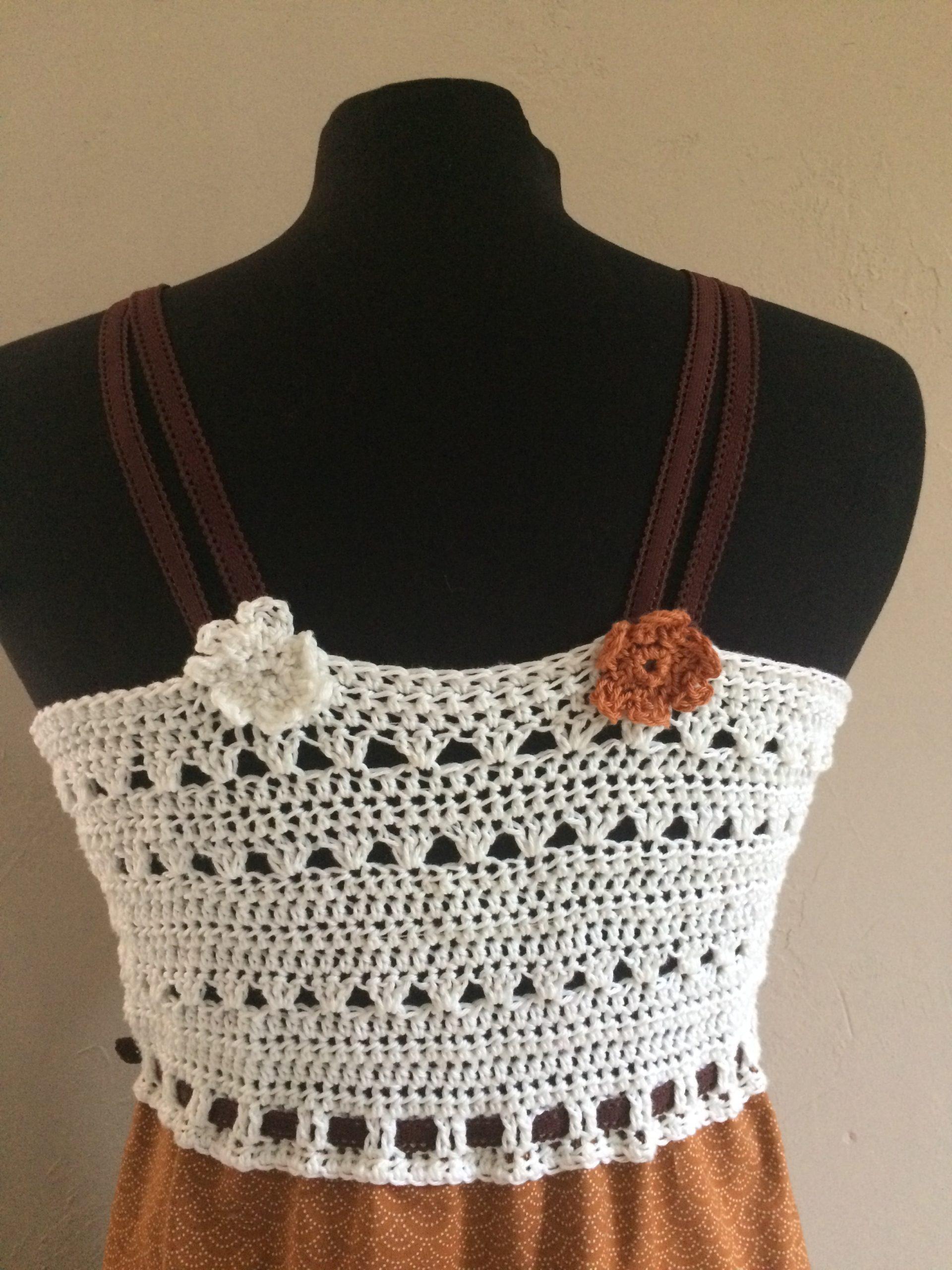 Dos Robe Terracota / Blanc