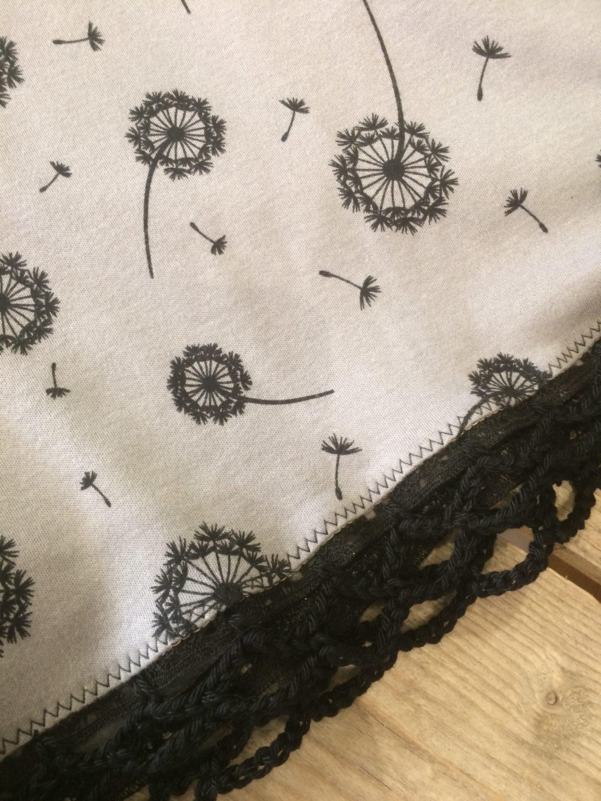 Crochetage Jupe-Short Pissenlits