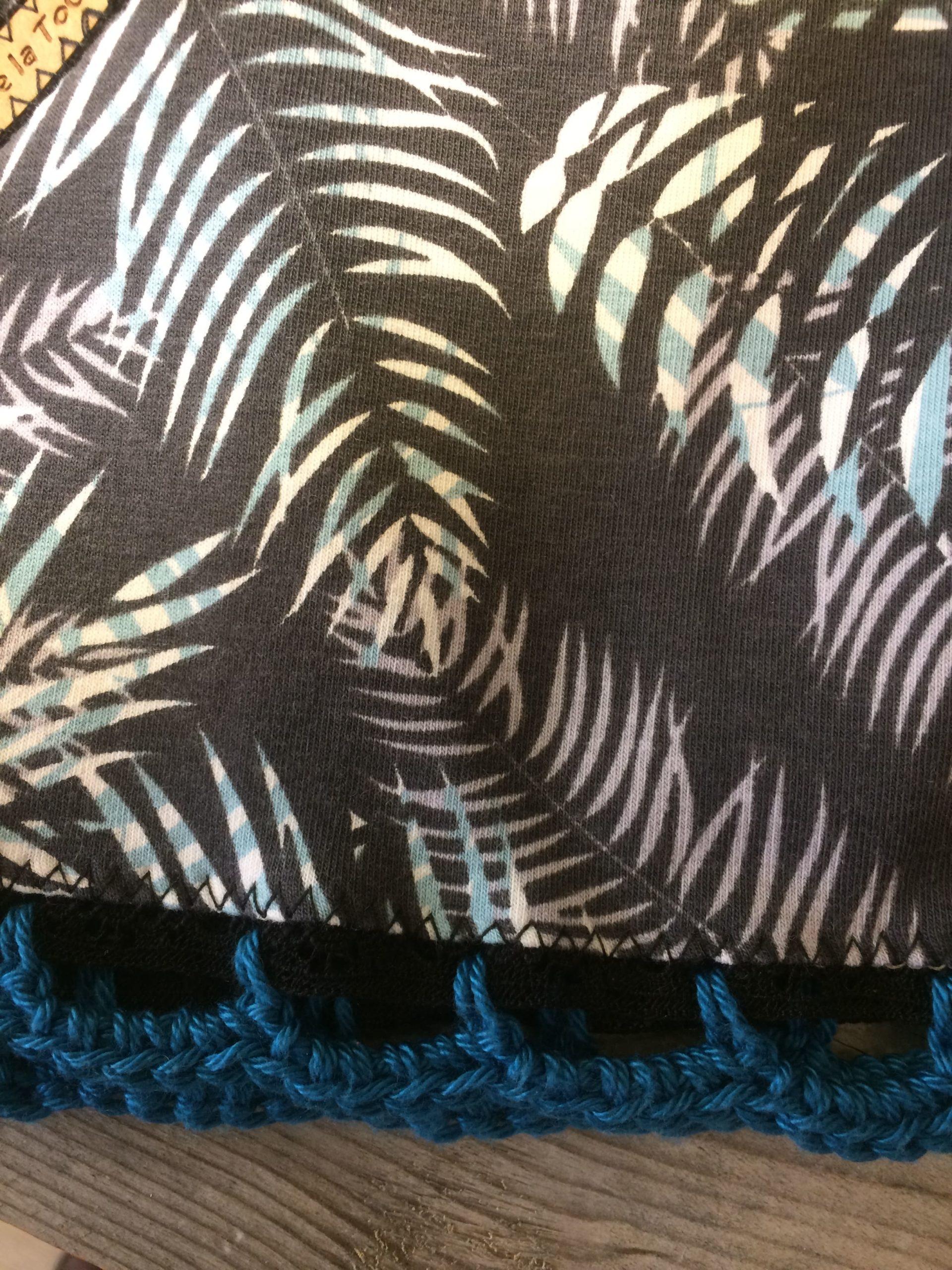 Crochetage bas Jupe-Short Palmiers
